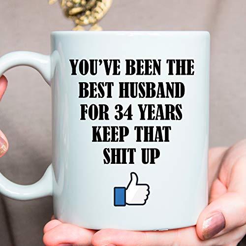 Amazon 34th Anniversary Gift 34 Year Anniversary Gift For Him