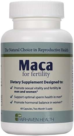 Organic Maca for Fertility