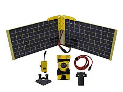 Best Cheap Deal for Hardened Power Systems Solar Array for Vantage RT w/ 30W Solar Panel, 50W Solar Controller, Battery Adapter, Cables, and Brackets by Hardened Power Systems - Free 2 Day Shipping Available