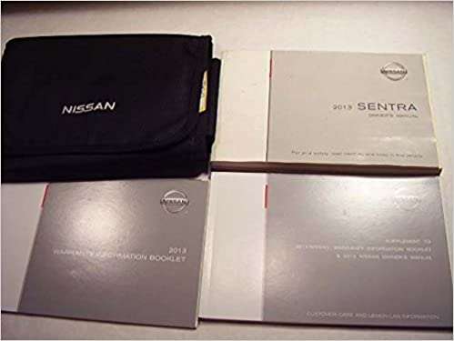 2013 nissan sentra owners manual >> 2013 nissan sentra owners manual nissan  amazon com books