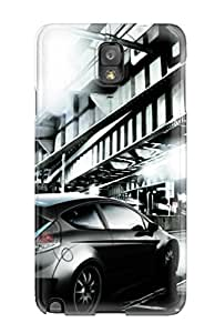 For ZippyDoritEduard Galaxy Protective Case, High Quality For Galaxy Note 3 Ford Fiesta Digital Art Skin Case Cover