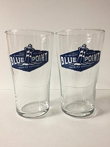 Blue Point Brewing Company - 16oz Pint Glass - 2 Pk