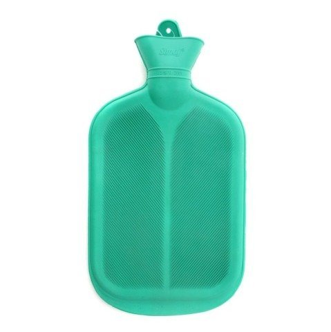 Coronation hot water bag super deluxe green color Two side ribbed with company warranty