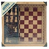 : Cardinal Oakmont Chess & Checkers Set