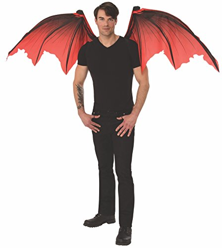 Rubie's Unisex Mechanical Wings Costume Accessory, Devil, One Size ()