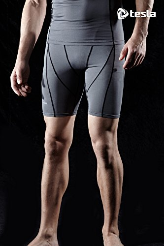 Tesla-Mens-Compression-Shorts-Baselayer-Cool-Dry-Sports-Tights-MUS77-S17