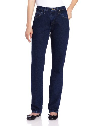 Wrangler Women's Blues Relaxed Fit Mid Rise Heavyweight Jean,Antique Indigo,18x32
