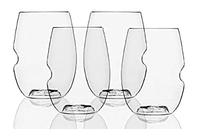 Govino Wine Glass Flexible Shatterproof Recyclable