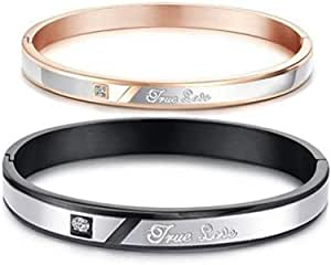 Azora Couple Titanium Lover Bracelet Men And Women-ST0213