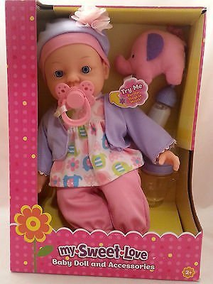 amazon com walmart my sweet love baby doll and accessories toys