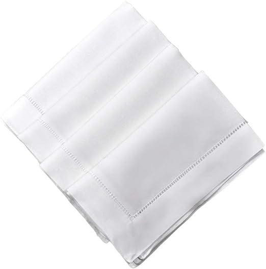 24 white wedding cotton restaurant dinner cloth linen napkins premium 20/'/'