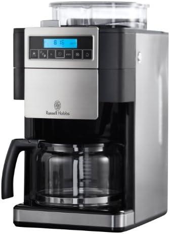 Russell Hobbs Platinum, Negro, Acero inoxidable, 1000 W, Plástico, Acero inoxidable - Máquina de café: Amazon.es: Hogar