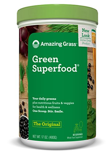 Amazing Grass Green Superfood Original, 60 servings, 17 Ounces 829835934003