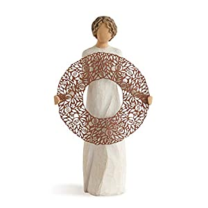 Willow Tree Welcome Here Hand Painted Sculpture Figure 77