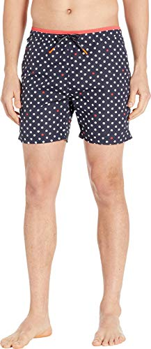 Scotch & Soda Men's Bright Swim Shorts with Contrast Waistband Combo A - Scotch And Soda
