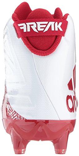 Adidas Missfoster X Kol Mitten Cleat Mens Fotboll Vit / Effekt Röd / Effekt Röd