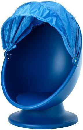 Ikea Ikea Ps Lomsk Swivel Armchair Blue Light Blue 120x40x74 Cm Amazon Co Uk Kitchen Home