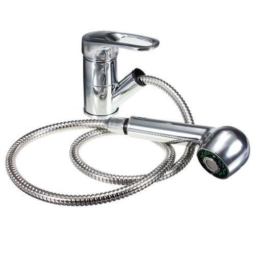 Polo Pullout Spray Monobloc Kitchen Basin Sink Mixer Tap ()