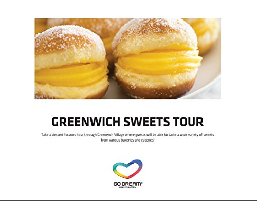 Greenwich Sweets Tour in New York Experience Gift Card NYC - GO DREAM - Sent in a Gift Package - Dream Pudding