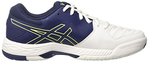 game Uomo Scarpe Tennis Indigo Asics Safety Bianco Gel Da 6 Yellow Blue white tHSwYwx