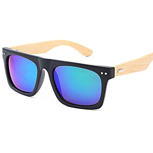 lunettes en Femme soleil de de Lonshell bambou verres Lunettes Homme bois F voyage IqF18wI