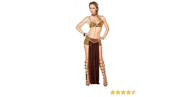 Beautyplay Mujer Sexy Lencería Traje Princesa Leia Slave Miss ...