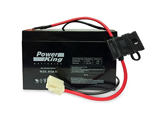 Replacement KidTrax 6 Volt 7AH Battery by Beiter DC Power (6 Volt Battery For Ride On Toys)