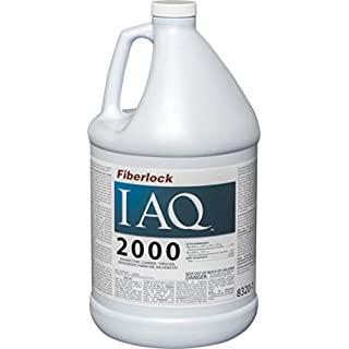 Fiberlock IAQ 2000 Disinfectant & Fungicide Cleaner Concentrate, EPA-Registered Disinfectant Cleaner, Deodorizing Cleaning Supplies (1 Gallon)