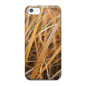 Unique Design Iphone 5c Durable Tpu Case Cover Golden