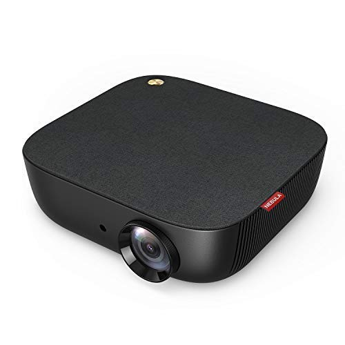 Nebula by Anker Prizm II 200 ANSI Lumen Full HD 1080p LED Multimedia Projector, 40 to 120 Inch Image Movie Projector, Dual Deep Bass Speakers, Keystoning, Video Projector, Fire TV, HDMI, and USB
