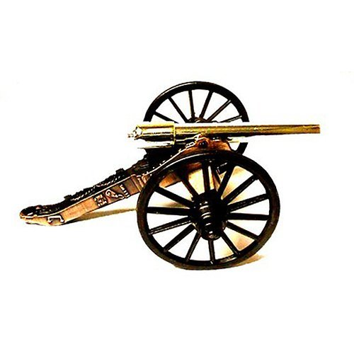 Miniature Civil War 1861 10-Pounder Rifle Cannon w/ Brass ()