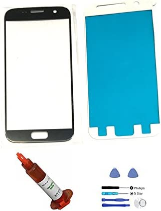 Opening Tool Adhesive Silver Back Cover Replacement Compatible Galaxy S8 G950 LCD Screen /& Touch Digitizer Not Included Front Outer Glass Lens md0410