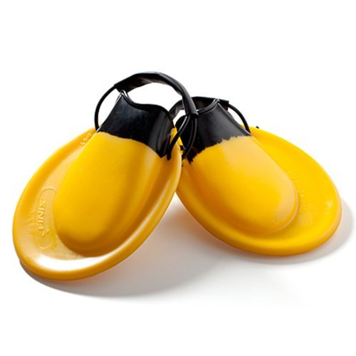 (Finis Positive Drive Fin - Yellow/Black, 38 - 40 by FINIS )