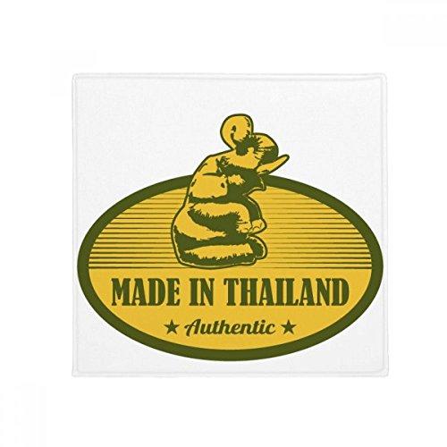 DIYthinker Thai Customs Culture Made in Thailand Anti-slip Floor Pet Mat Square Bathroom Living Room Kitchen Door 60/50cm Gift by DIYthinker