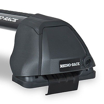 Rhino-Rack RS446B FORD F150 11th Gen 4dr Pick Up Super Crew 01/04 to 12/08 Vortex 2500 RS 2 Bar Roof Rack, Black