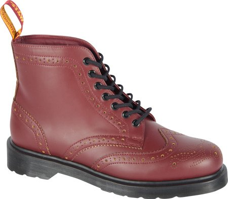 Dr. Martens Anthony Cherry Red+Yellow rosso