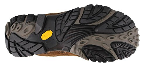 Merrell Men's Moab 2 Mid Waterproof Hiking Boot, Earth, 13 2E US