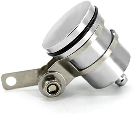 Bremsflüssigkeitsbehälter Universal Motorrad Öl Tasse Für Yamaha Aprilia Honda Suzuki Kawasaki 1 Stk Silber Auto