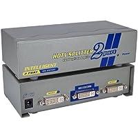 QVS MDVI-12H 2Port DVI, HDTV Digital Video Splitter & Distribution Amplifier with HDCP