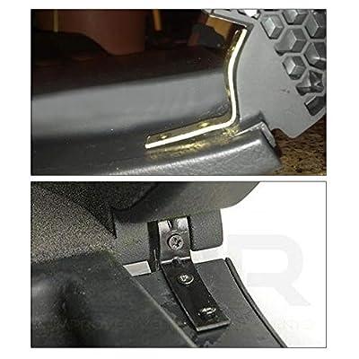PQY 2pcs Glove Box Lid Hinge Snapped Repair Kit Hinge Brackets with Screws for 01-on Audi A4 S4 RS4 B6 B7 8E DIY: Automotive