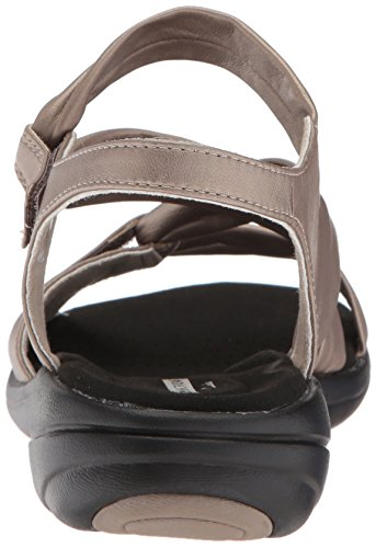 Clarks Pewter Metallic Sandals Leather Saylie Women's Moon HAqf8xH