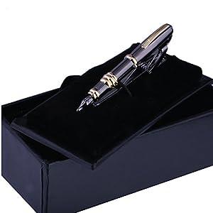 BodyJ4You Fountain Pen Tie Clip Bar Pinch Luxury Fashion Design Clip-Tie