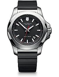Swiss Army Men's 241682.1 I.N.O.X. Watch with Black Dial...