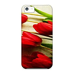 Protection Cases For Iphone 5c / Cases Covers For Iphone(flowers)