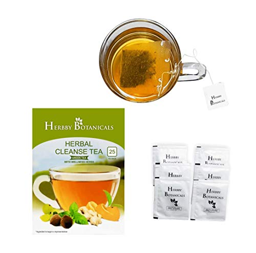 Skinny Slimming Detox Diet Tea for 28/14 Herbal Cleanse| Mild Laxative with Senna for Weight Loss, Reduce Bloating – 25…
