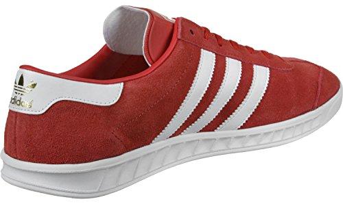 adidas Hamburg, Zapatillas de Deporte para Hombre Rojo (Rojo / Ftwbla / Dormet)