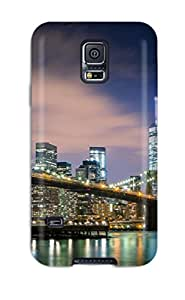 Best Premium Case With Scratch-resistant/ New York Case Cover For Galaxy S5