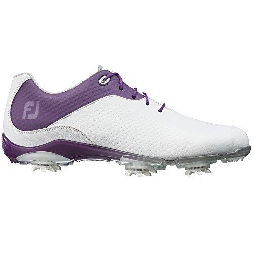 FootJoy DNA Golf Shoes 2015 Women CLOSEOUT White/Purple Medium 8.5 Home