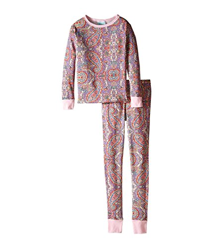 BedHead Kids Girl's Snug Fit L/S Classic PJ (Big Kids) Boho Paisley Pajama Set 12 (Big Kids)