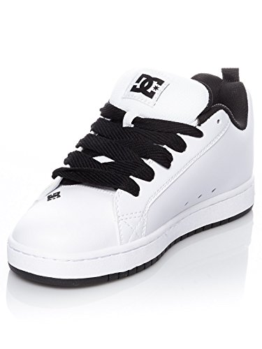 Graffik Sneaker taglia Court DC Heather White S Shoes Grey M YxXwAEP